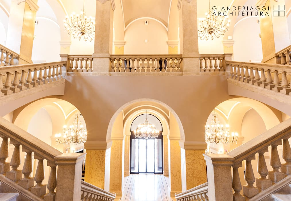 Riuso in albergo di lusso Ex ospedale G. Vighi GIANDEBIAGGI ARCHITETTURA