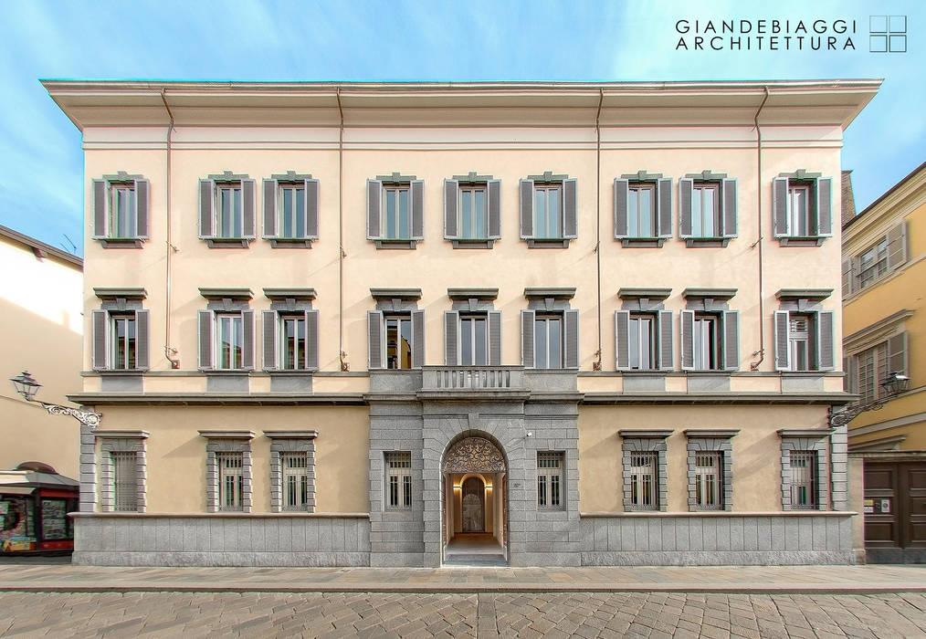 APE Museum nell'Ex Banca d'Italia di Parma GIANDEBIAGGI ARCHITETTURA