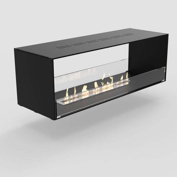 Durchsicht Ethanolkamin Montreal Moderne Esszimmer von RF Design GmbH Modern