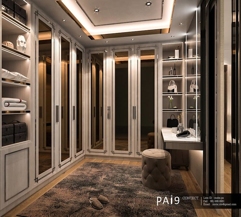 Project : Perfect Place 4 – Ratchapruek PAI9 Interior Design Studio ห้องแต่งตัว