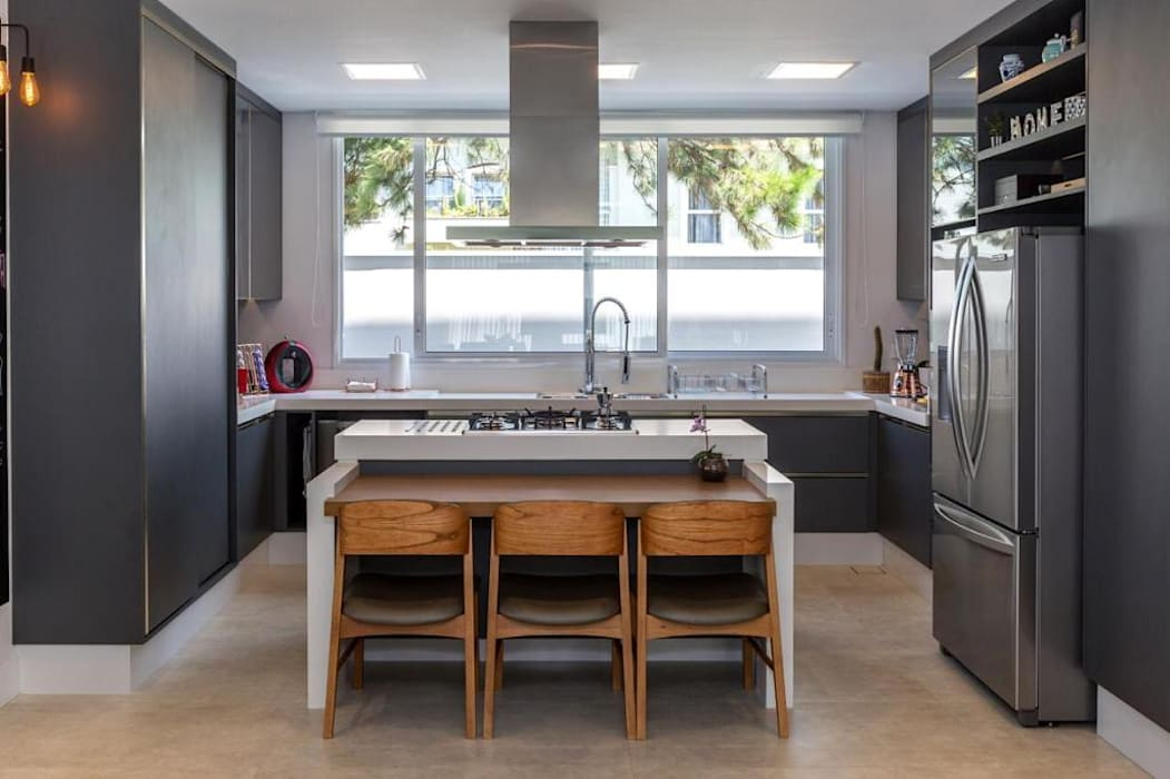Lucia Helena Bellini arquitetura e interiores Кухонні прилади