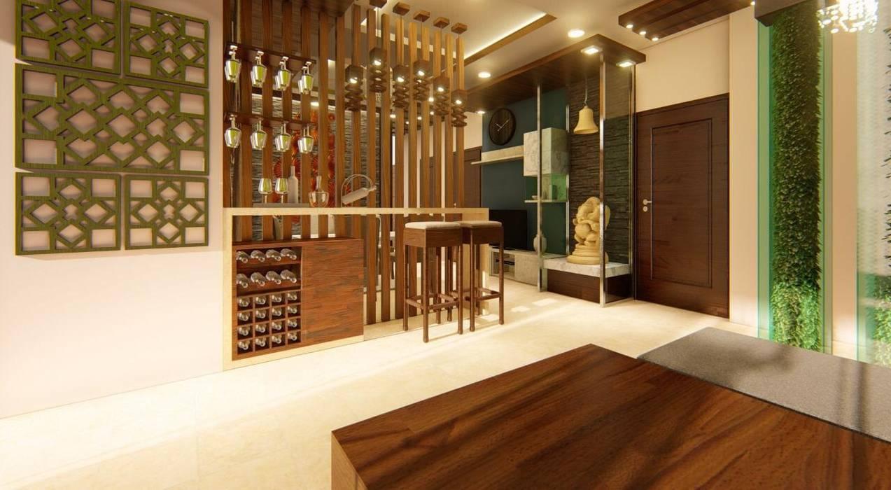 home interior: minimalist  by Manglam Decor,Minimalist Engineered Wood Transparent