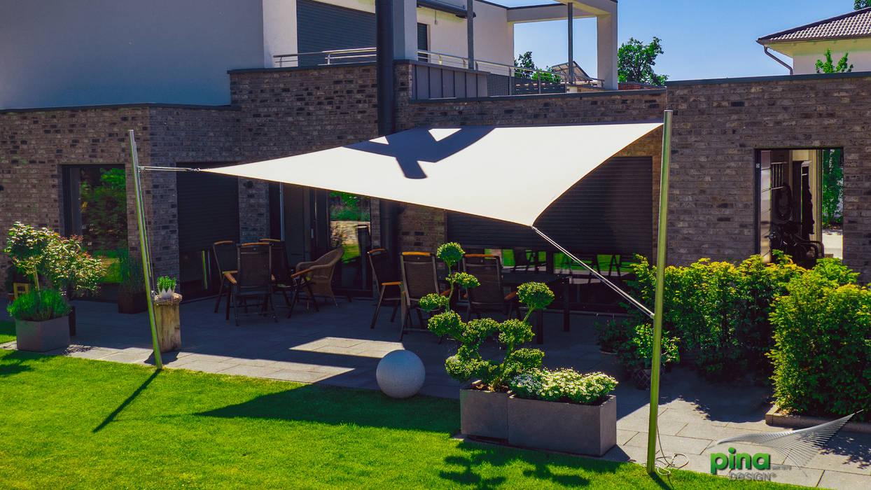 Schatten für die terrassen moderner balkon, veranda ...