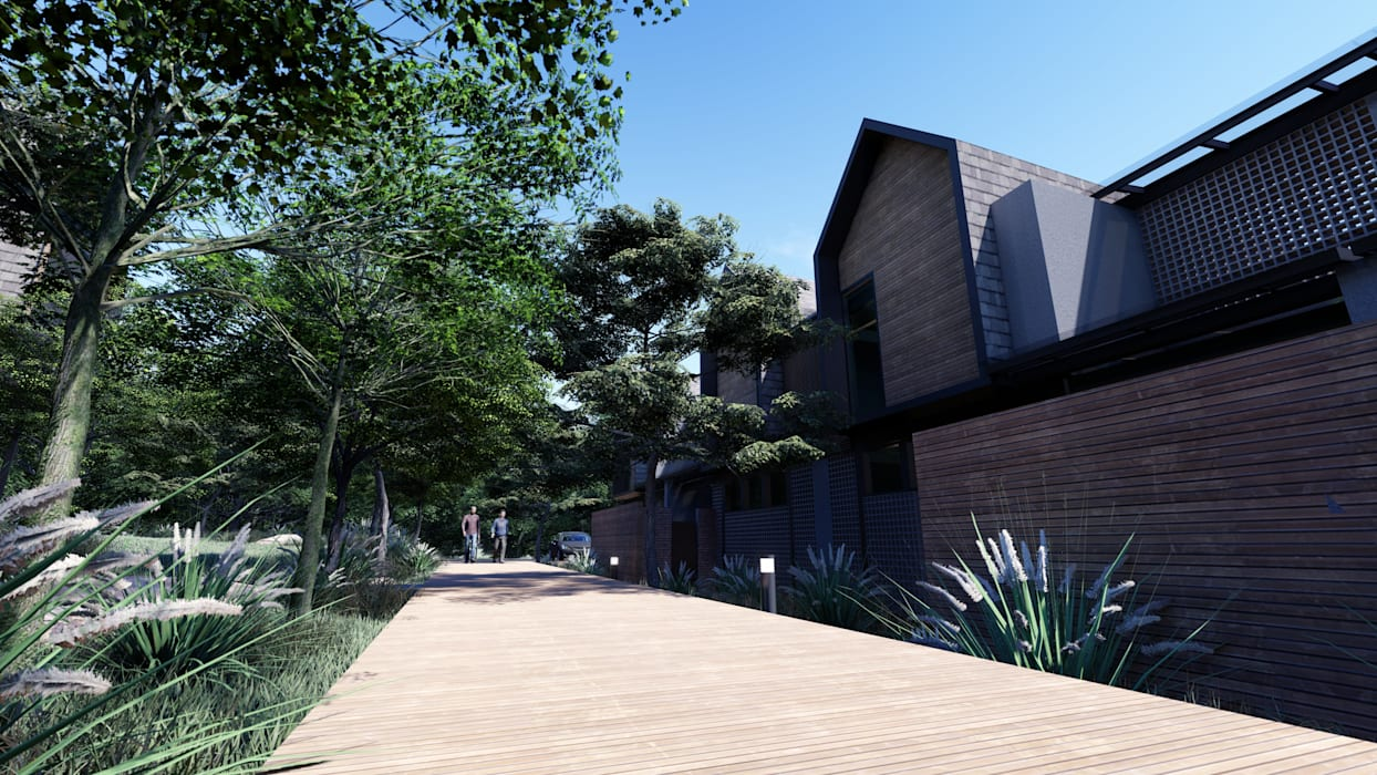 Houses by LI A'ALAF ARCHITECT, Modern