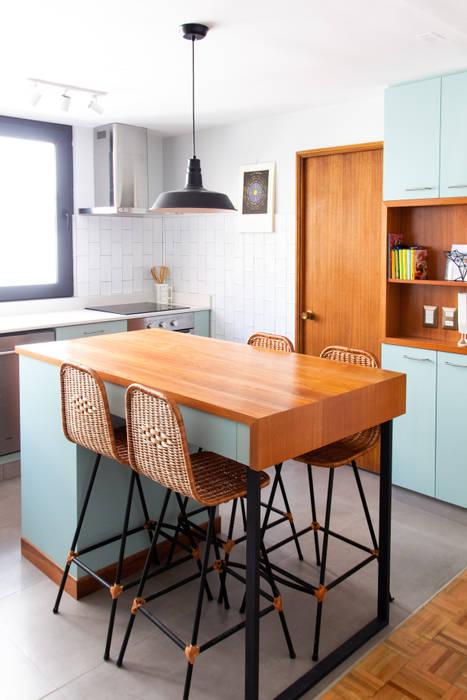 Remodelación Cocina: Cocinas de estilo  por ESTUDIOFES ARQUITECTOS, Moderno