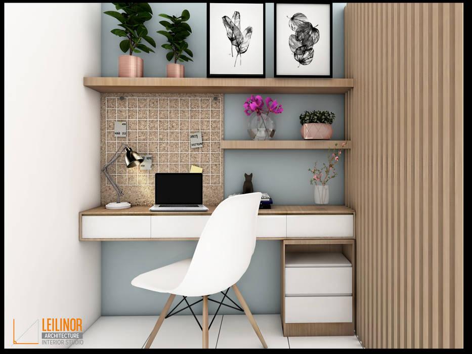 : Ruang Kerja oleh CV Leilinor Architect,