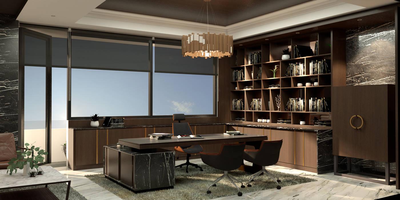 Bintang Barutama Office: Gedung perkantoran oleh MODULA, Modern