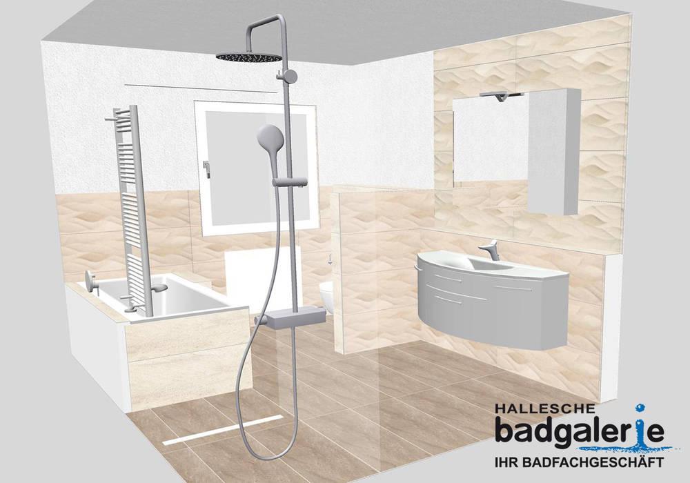 Komplettbad – planung (3) moderne badezimmer von hallesche ...
