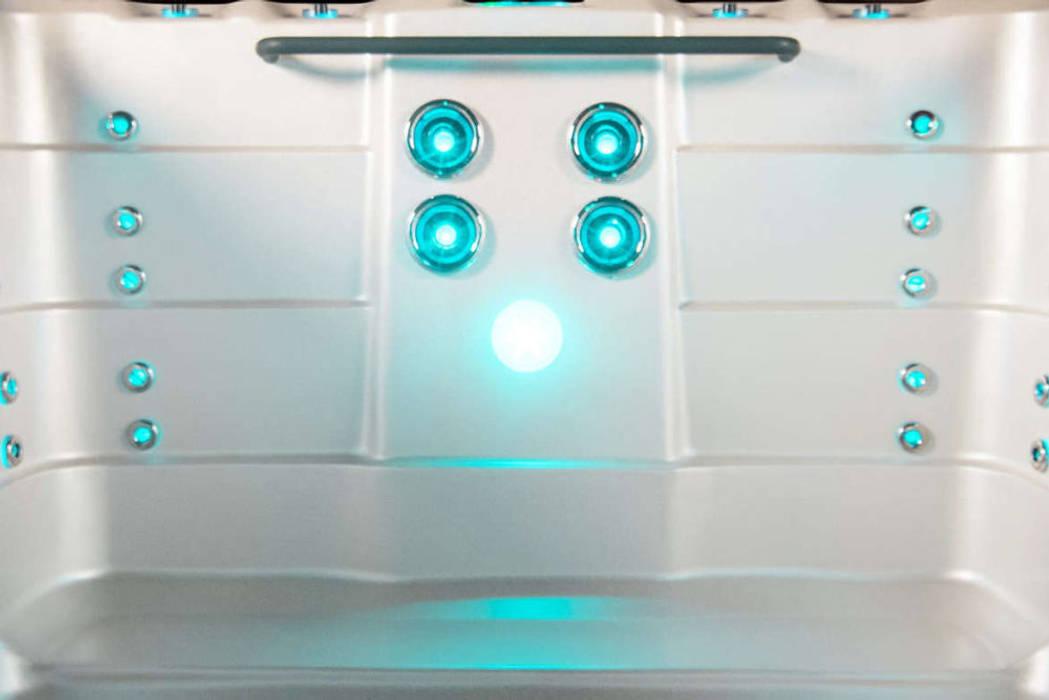 Gegenstromanlage mit Schwimmdüsen Moderner Garten von SPA Deluxe GmbH - Whirlpools in Senden Modern