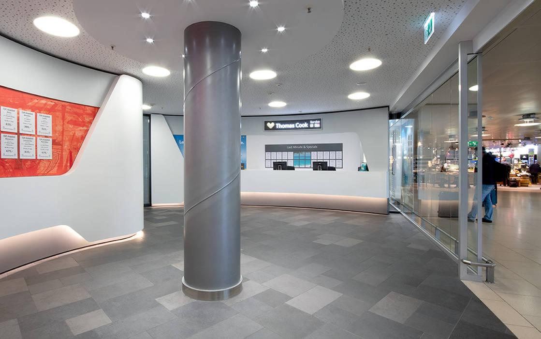Aeropuertos de estilo  por Hannibal Innenarchitektur, Moderno