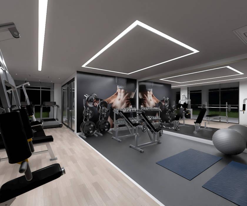 ห้องออกกำลังกาย โดย Rolf Rocha, โมเดิร์น