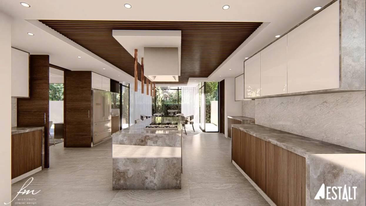 Moderne Küchen von FRANCOIS MARAIS ARCHITECTS Modern