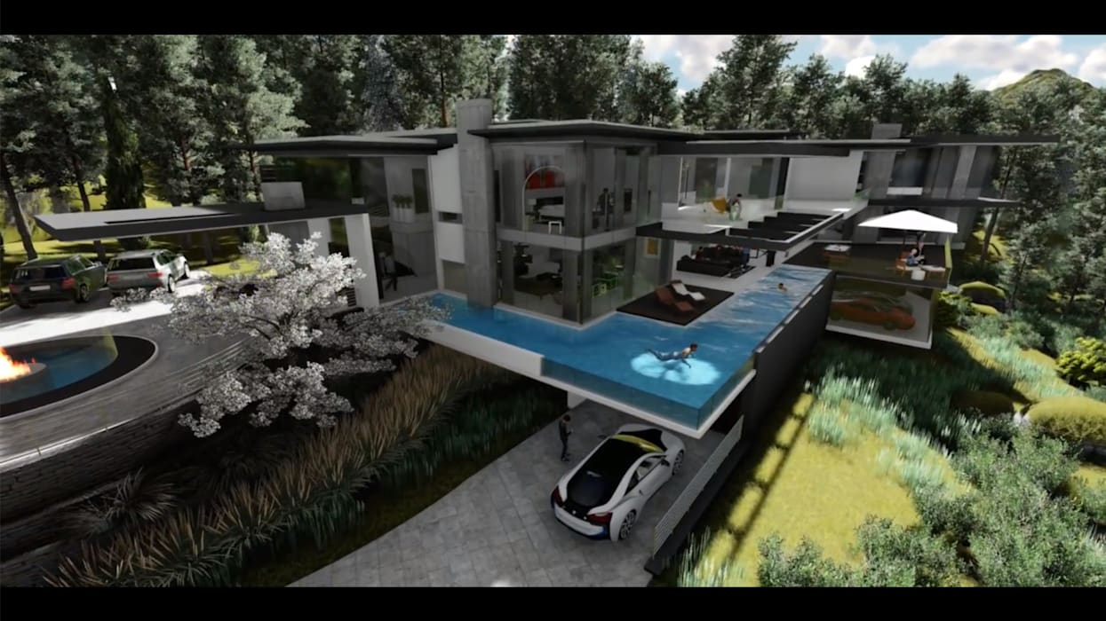A dream addition by FRANCOIS MARAIS ARCHITECTS Modern