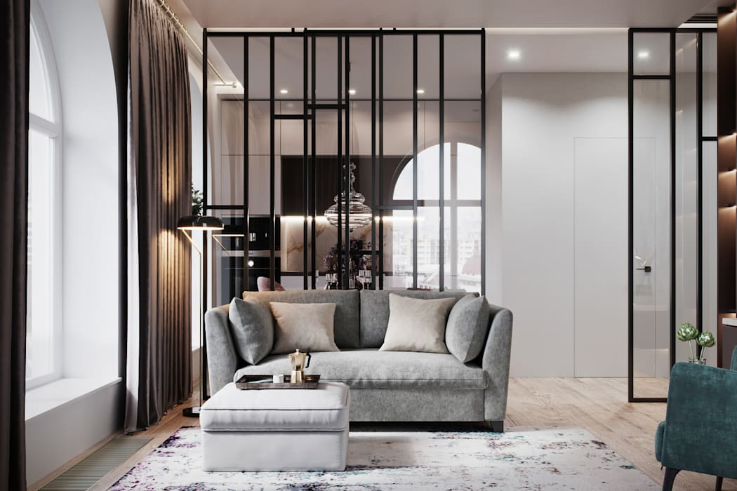 Living room by A.D.D., Minimalist