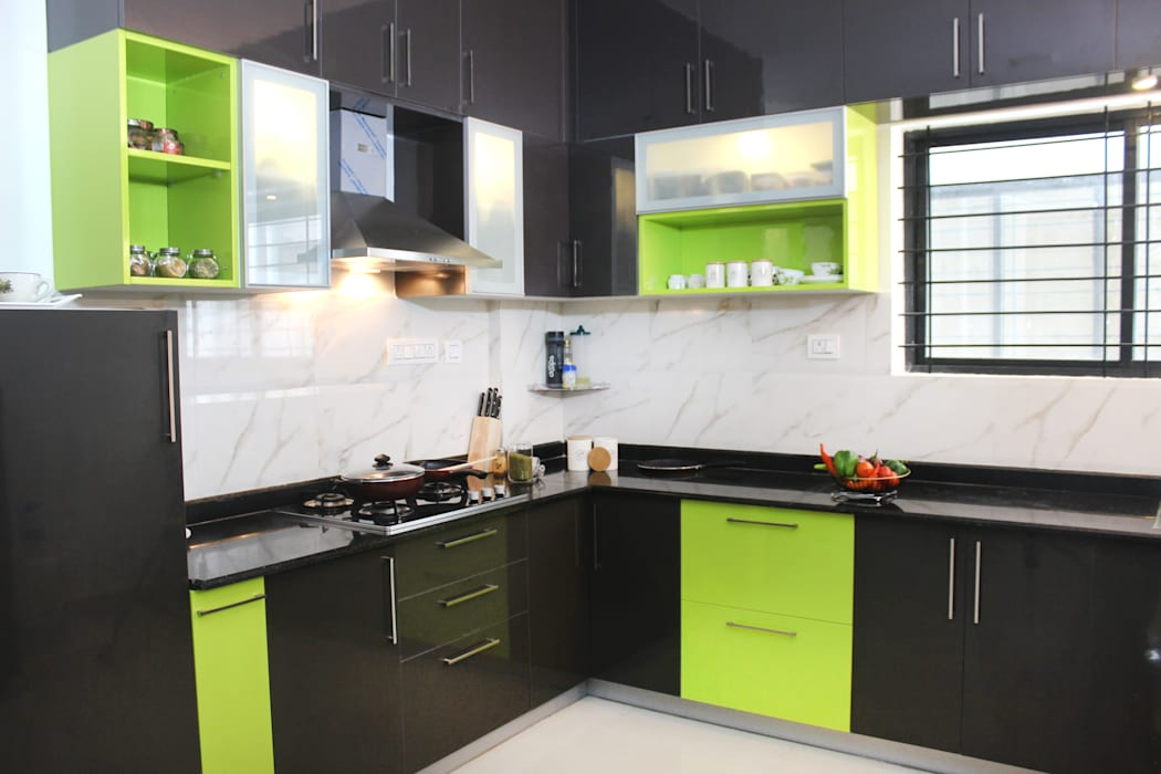 Modern Kitchen by HomeLane.com Modern