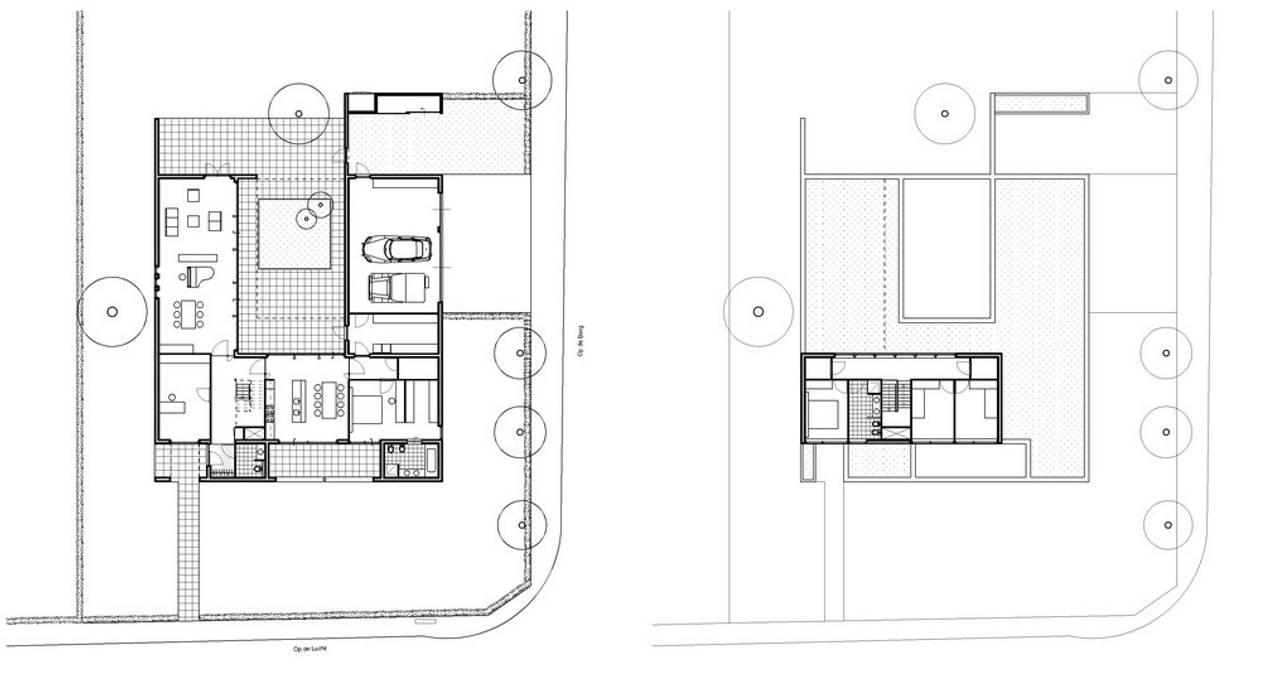 Villa W.L-V, Meerssen (NL) :  Villa door Verheij Architecten BNA,
