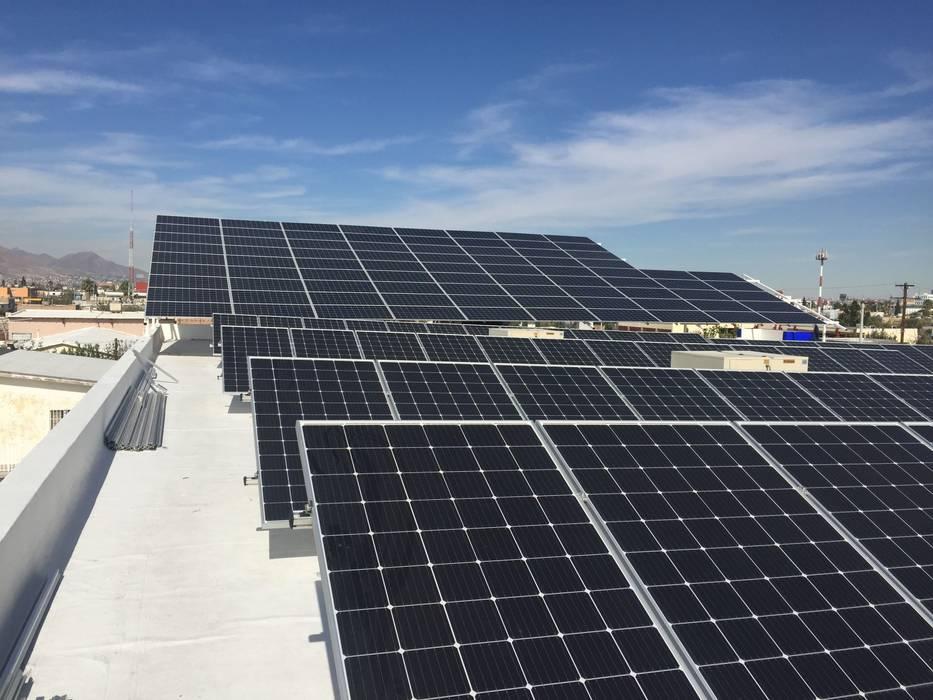 من CORSA grupo constructor / CORSA energia solar حداثي الألومنيوم / الزنك