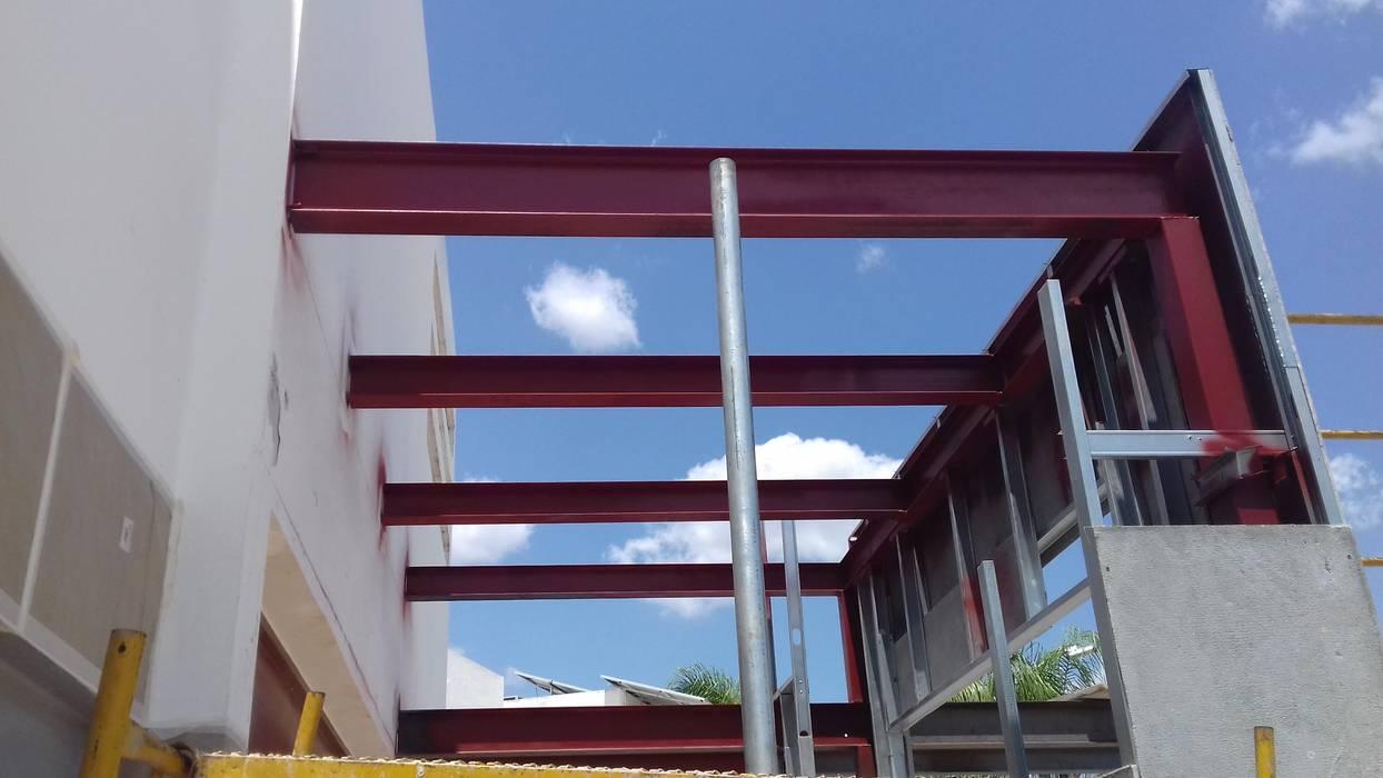 Estructura Metálica Balcones Y Terrazas Industriales De