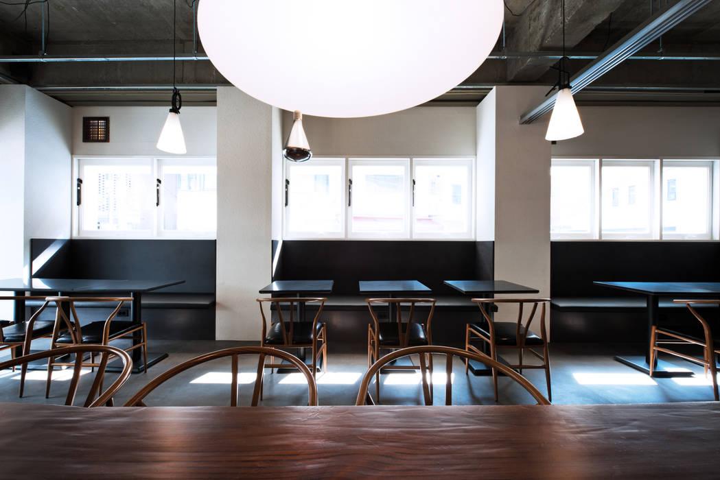 이탈리안 레스토랑 미누씨 (minu.c), 도곡동 모던스타일 거실 by M's plan 엠스플랜 모던