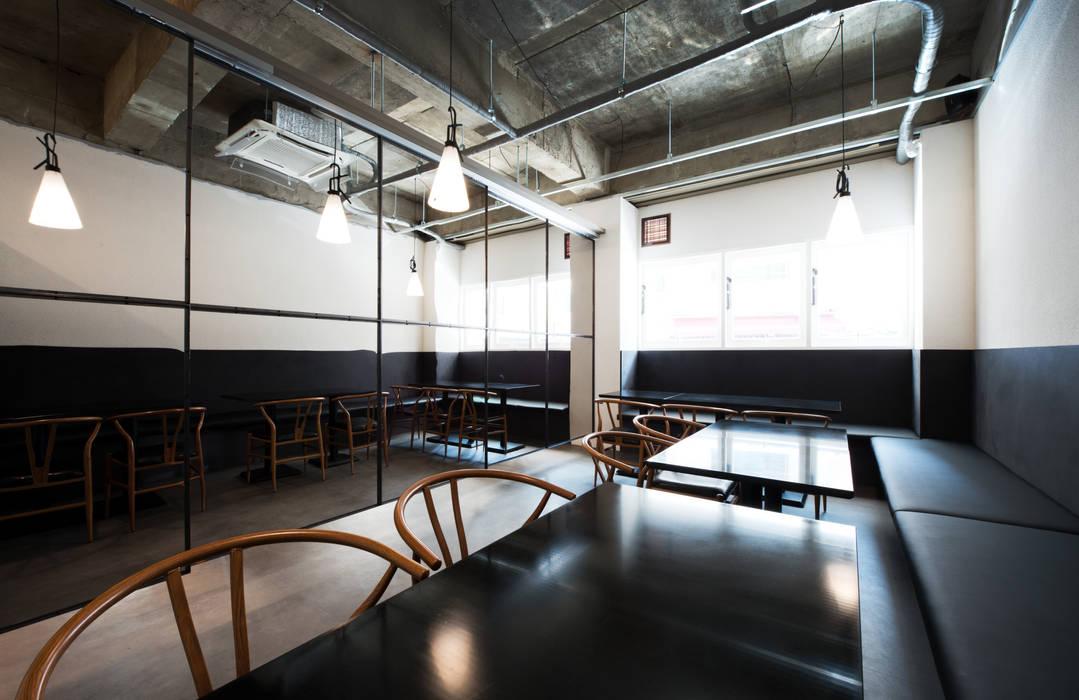 이탈리안 레스토랑 미누씨 (minu.c), 도곡동 모던스타일 다이닝 룸 by M's plan 엠스플랜 모던