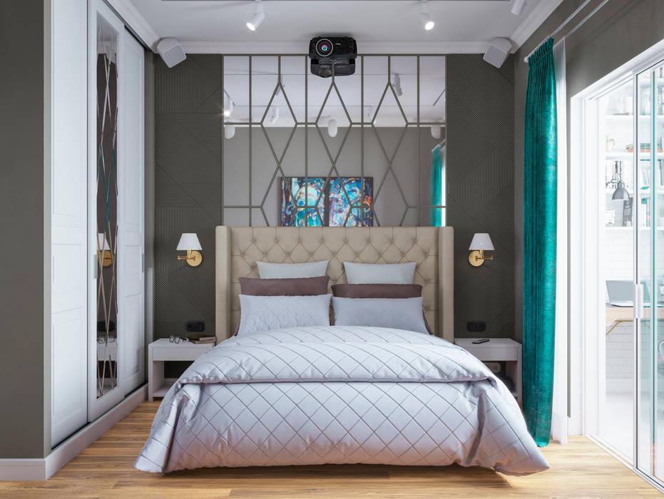 Спальня: Спальни в . Автор – Студия Дизайна Елены Сайфуллиной, Классический