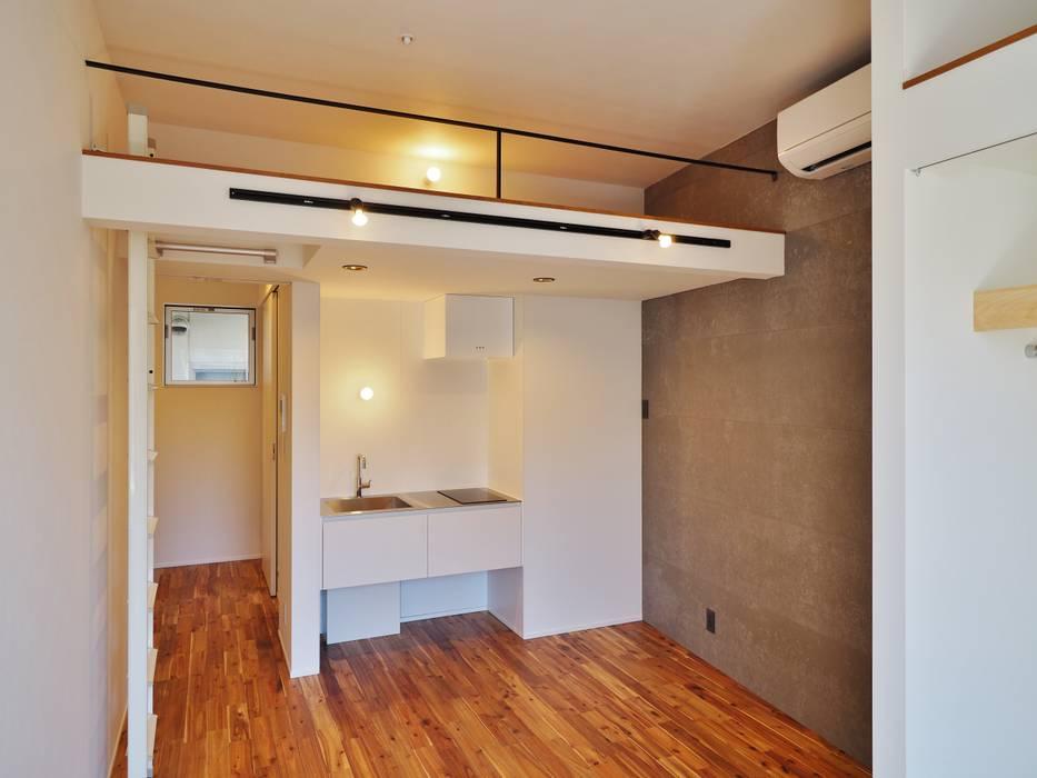 Petites cuisines de style  par ユウ建築設計室,