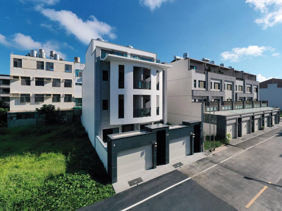 建築整體外觀 根據 houseda 現代風 石英