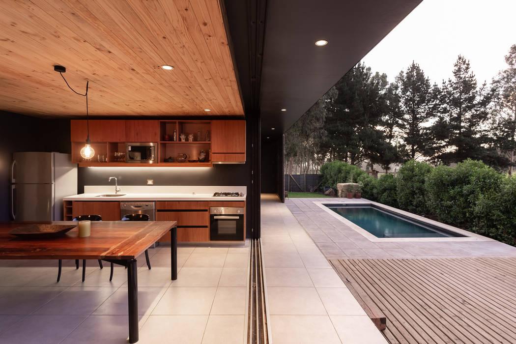 CASA AGLAE: Comedores de estilo  por AFARQ Arquitectos, Minimalista