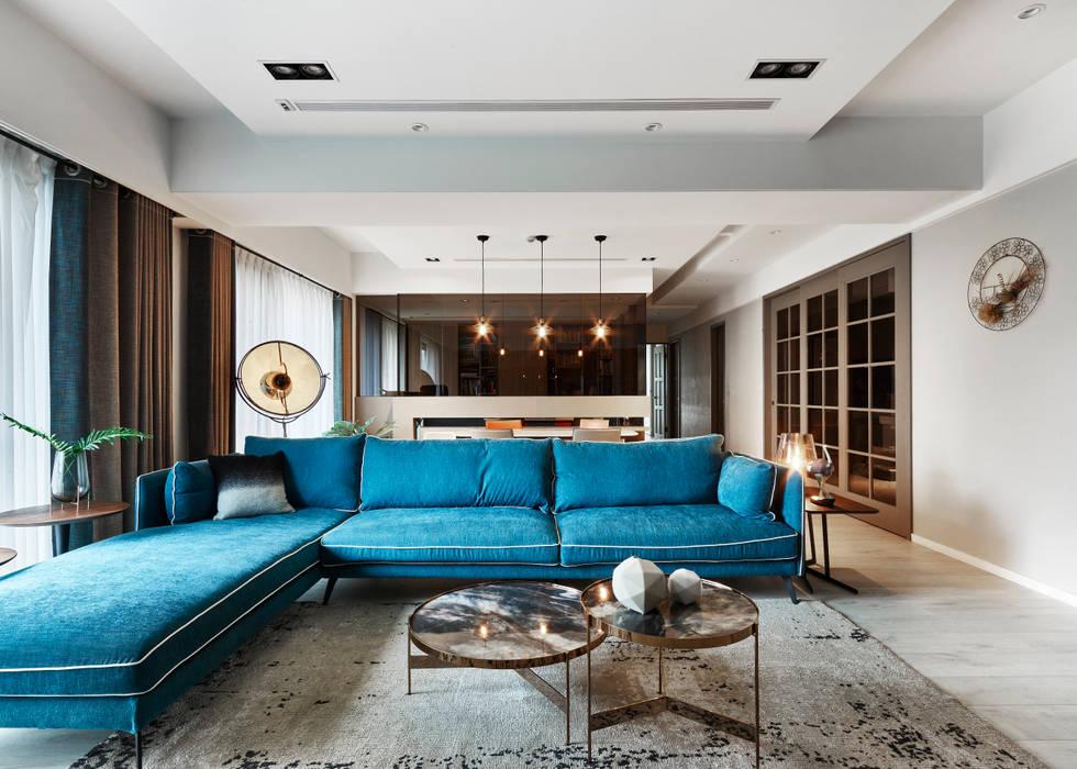 藍旗褐色 Huang residence 根據 耀昀創意設計有限公司/Alfonso Ideas 北歐風