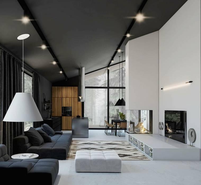Livings de estilo moderno de Smart Investment Group Moderno Concreto