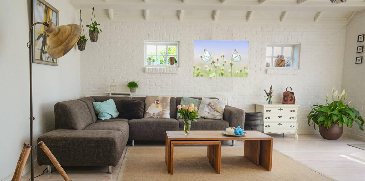 Modern living room by Heat Art - infrarood verwarming Modern