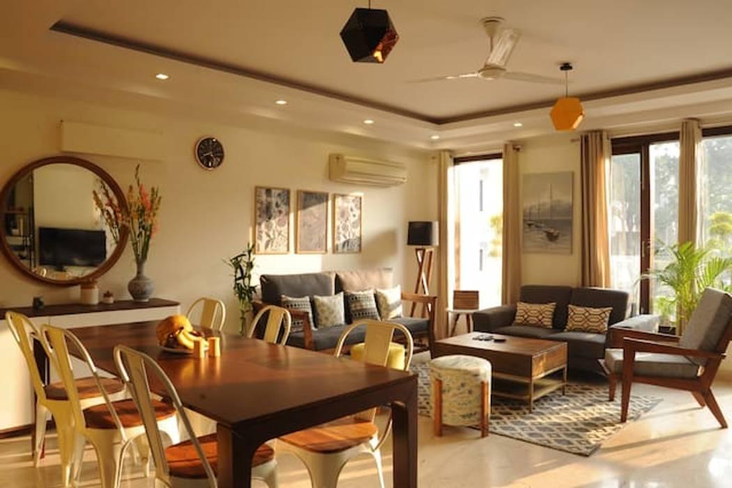flamingo architects Living room