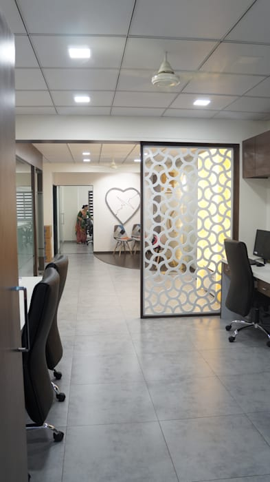 Commercial Office by Blossom Interior Rustic Ceramic