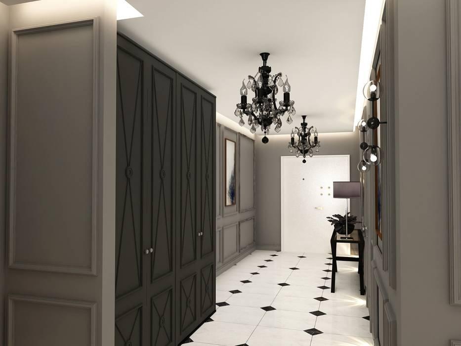 Decorvita mimarlık – Toskana Vadisi Villaları Holü:  tarz Koridor ve Hol, Modern