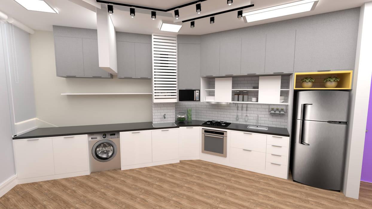 Unit dapur oleh Fareed Arquitetos Associados, Eklektik