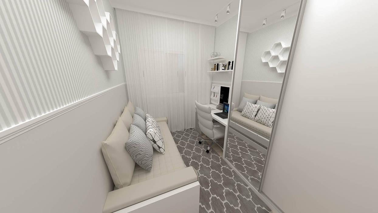 Implantação de Apartamento Residencial 55m2 -4 por Fareed Arquitetos Associados Eclético