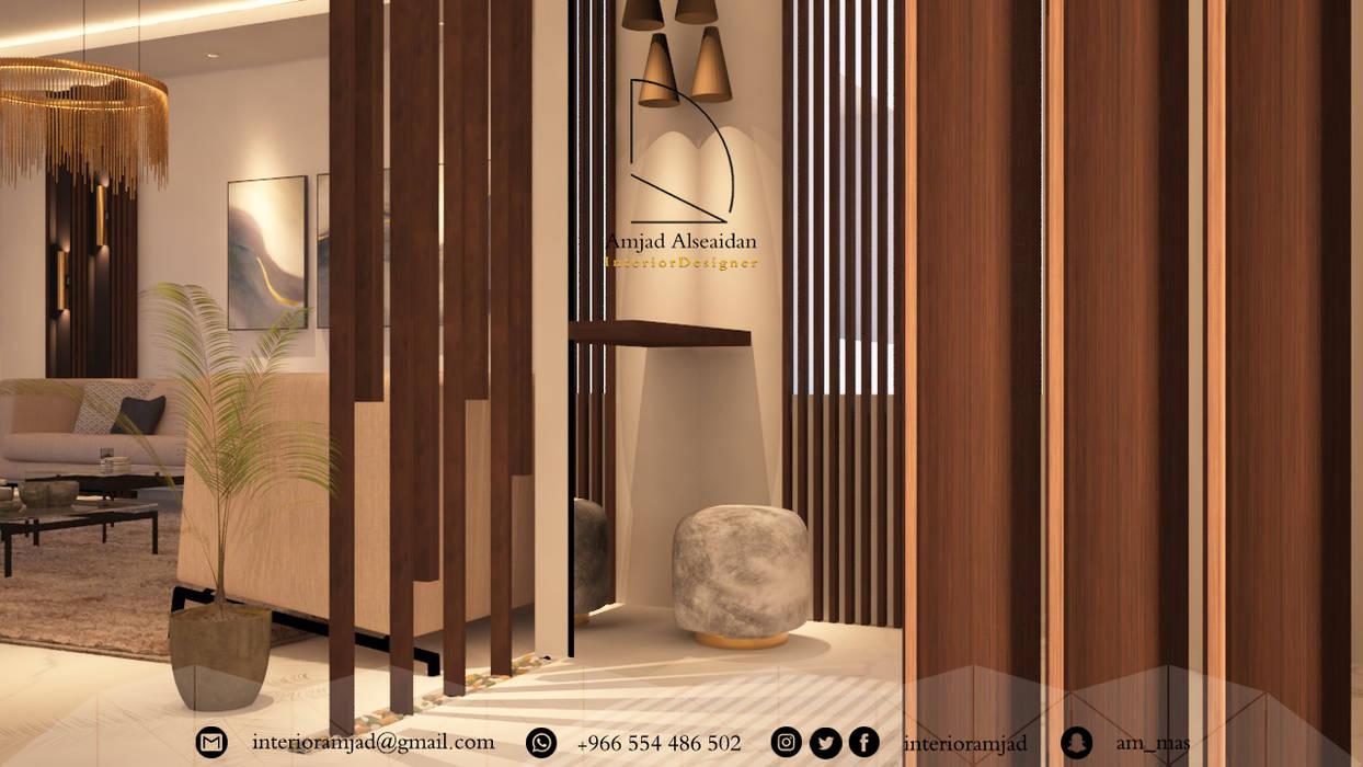 مدخل رئيسي:  الممر والمدخل تنفيذ Amjad Alseaidan,