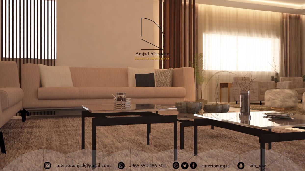 مجلس:  غرفة المعيشة تنفيذ Amjad Alseaidan,