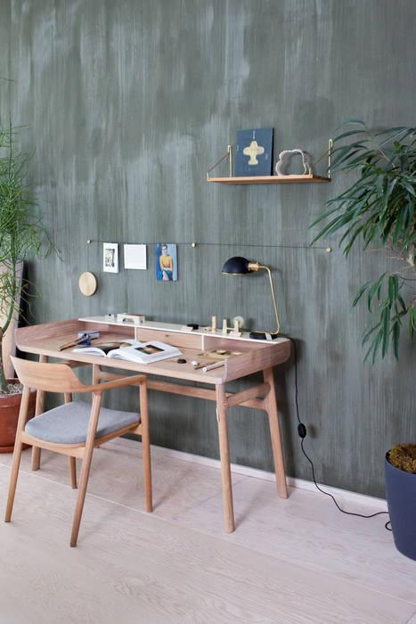 Belgian Wilderness Fresco lime paint Pure & Original Eclectische studeerkamer