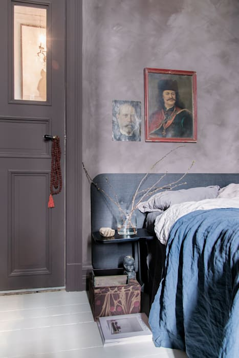 Eclectic style bedroom by Pure & Original Eclectic