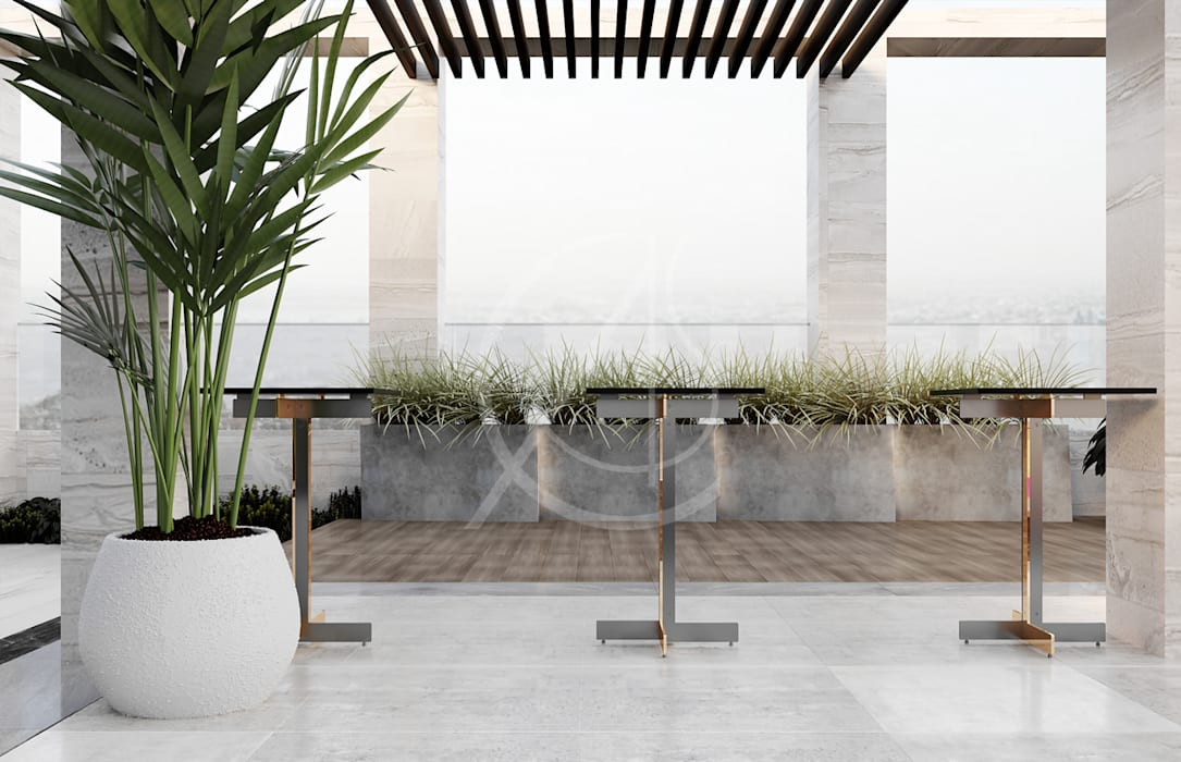 โดย Comelite Architecture, Structure and Interior Design ผสมผสาน