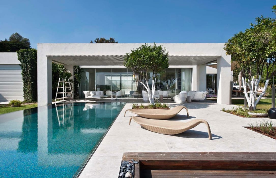 Mit der Natur verbunden..... Moderne Pools von Ecologic City Garden - Paul Marie Creation Modern