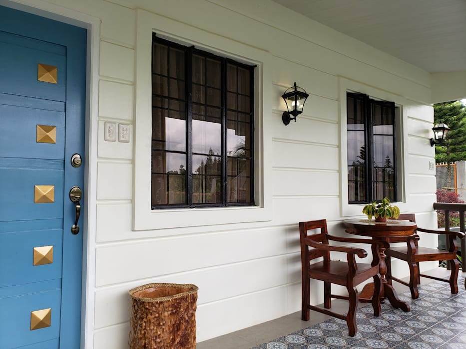 Cozy Cottage:  Terrace by Geraldine Oliva, Colonial
