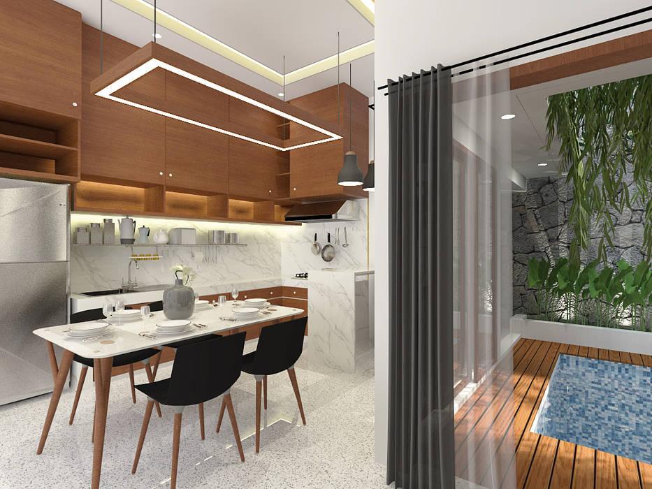 ห้องทานข้าว โดย SEKALA Studio, ทรอปิคอล