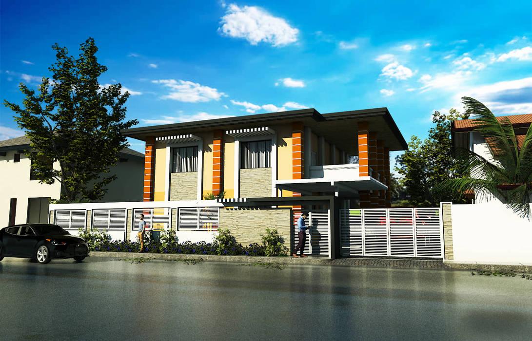Paranaque Roxas Boulevard Construction:  Villas by JPSolatorio Architectural Design Services,
