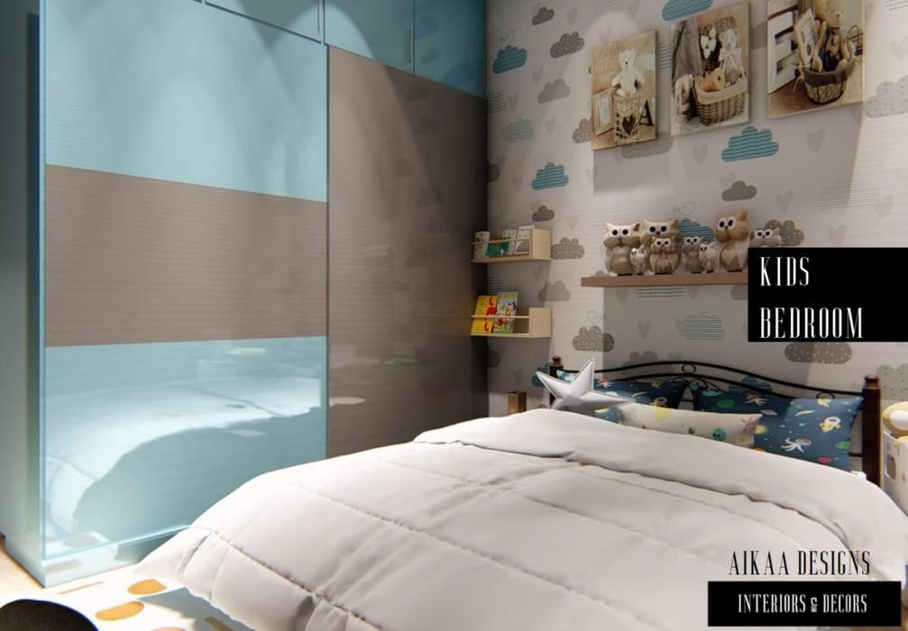 KIDS BEDROOM Modern nursery/kids room by Aikaa Designs Modern
