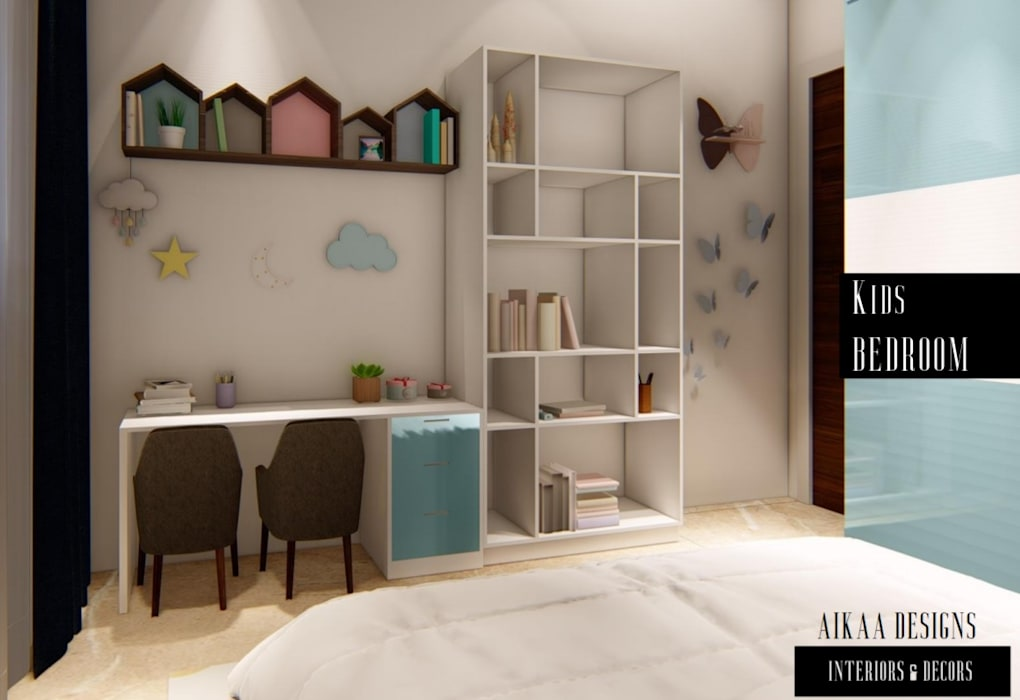 KIDS BEDROOM Aikaa Designs Modern nursery/kids room