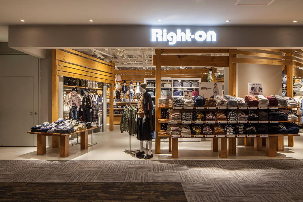 RIGHT ON  AEON Mall Kyoto: KITZ.CO.LTDが手掛けた商業空間です。,