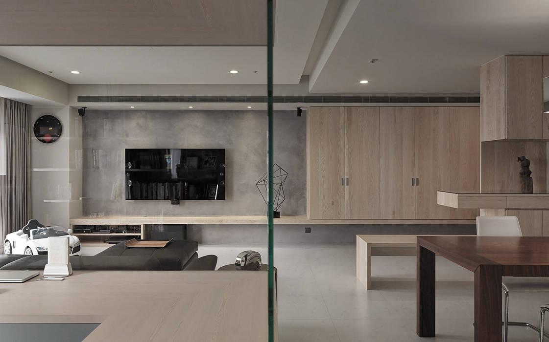 Dinding oleh 形構設計 Morpho-Design, Modern