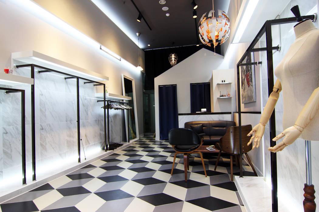 Ruang Komersial Modern Oleh IDA - 아이엘아이 디자인 아틀리에 Modern Marmer